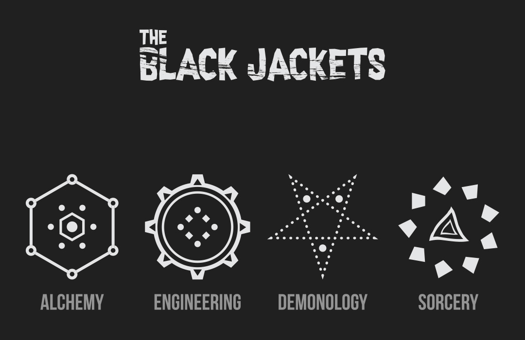 The Black Jackets Branding